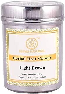 Khadi Herbal Light Brown Henna Hair Color - 150 ml