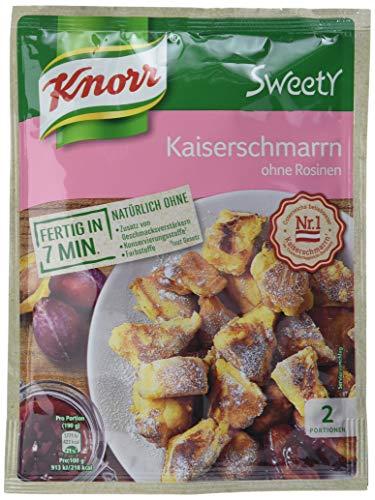 Knorr Sweety Kaiserschmarrn ohne Rosinen, 2 Portionen (1 x 185 g)