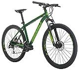 Diamondback Bicycles Overdrive St Mountain Bike, Green, 18'/Medium