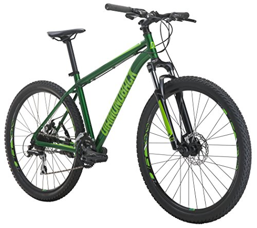 Diamondback Bicycles Overdrive St Mountain Bike, Green, 20″/Large
