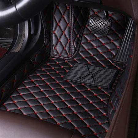 WXHHH Leder Benutzerdefinierte Auto Auto Fußboden-Fußmatte Fit Für Land Rover Evoque Range Rover Velar Entdeckung 3/4/5 Freelander 2 Entdeckung Sport Fuß