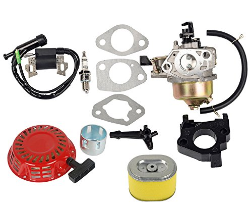 oxoxo 16100-ze2-w71Vergaser Carb Kit mit Air Filter Zündspule Recoil Starter für Honda GX240GX2708HP 9HP Motor