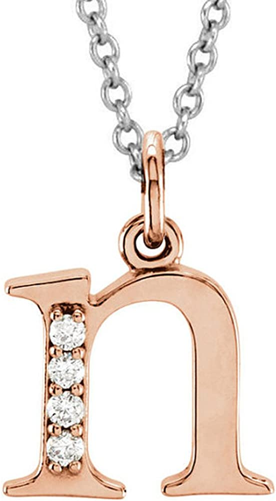 Direct stock discount Special price Dazzlingrock Collection 0.05 Carat ctw L 14K Lowercase Diamond