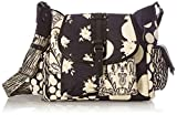 Desigual Fabric Shoulder Bag, Bolso Bandolera. para Mujer, Negro, U