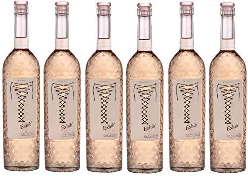 EXHIB - Rosé de lété - IGP Côtes de Thau Cap dAgde - 6 x 75 cl