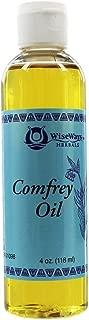 WiseWays Herbals Comfrey Oil, 4 Ounces