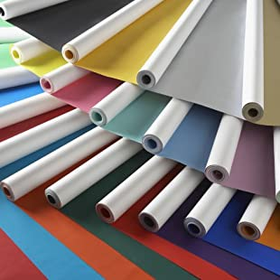 White Poster Display Paper 10m Roll 76mm Width:Dailyvideo