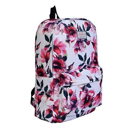 Lino Perros Multi Colored Floral Printed Backpack