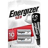 Batterie Energizer 123 Lithium Photo, confezione da 2