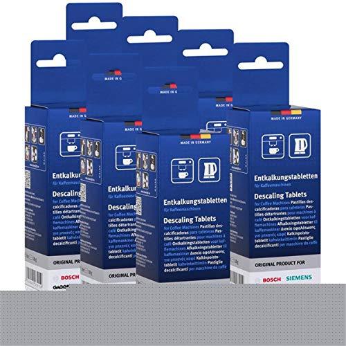 7x Bosch TCZ6002 Entkalkungstabletten für Kaffee Vollautomaten