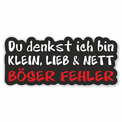 folien-zentrum Du denkst Shocker Hand Auto Aufkleber JDM Tuning OEM Dub Decal Stickerbomb Bombing Sticker Illest Dapper Fun Oldschool