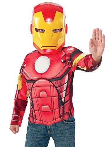 Rubie s itg31529–Kostüm für Kinder Set Iron Man mit Muskeln, S