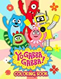 "Yo Gabba Gabba Coloring Book: An Amazing Coloring Book For Fans Of Yo Gabba Gabba To Get Into ""Henry HuggleMonster"" World With Flawless And Lovely Designs"