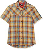 SALEWA Fanes Hike Dry M S/S SRT Camisa de Manga Corta, Hombre, Morado (M Tort/Nug/Wash/Sand), 48/M
