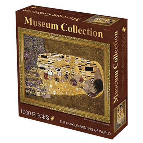 Perfektionieren Museum Sammlung Berühmte Gemälde Puzzle, Weltmeisterwerk-Reihe, Klassik 1000 Stück Boxed Fotografie Spielzeug Spiel Kunst for Erwachsene & Kinder 1212 (Color : L)