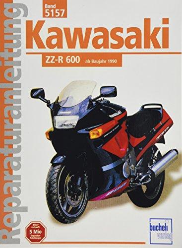 Kawasaki ZZ-R 600 ab 1990 (Reparaturanleitungen)