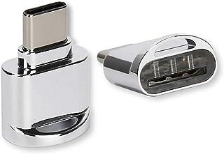 716169519d1 RENNICOCO - Adaptador USB C portátil para Lector de Tarjetas Micro SD a USB  Tipo C
