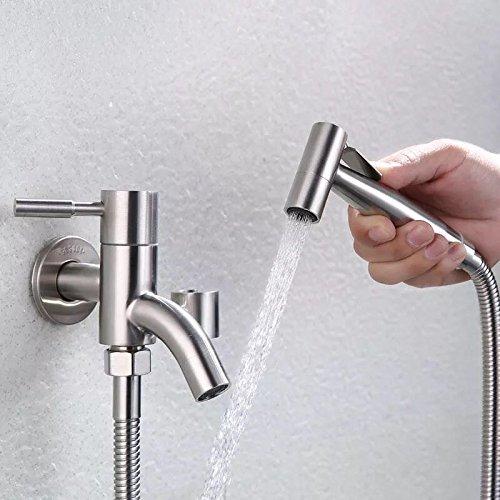GFEI toilettes pistolet acier inoxydable 304 / rappel à la douche d'eau
