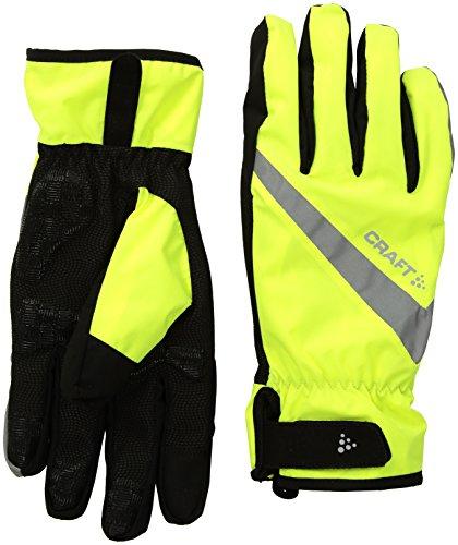 Craft Herren RAIN Glove 2.0 Radhandschuh, Flumino/Black, 9/M