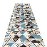 LIFFMallJC Tapis de Couloir Passage Design Lavable Tapis d'entrées Polyester Tapis découpable pour Cuisine, Salon (Size : 60×100cm)