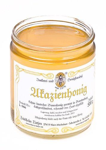 Deutscher Akazien Honig 500g – mildes Aroma, naturbelassen, Honig (von Imkerei Nordheide)