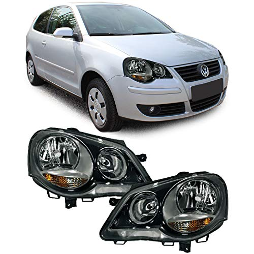 Carparts-Online 13301 GTI Cup Scheinwerfer schwarz - Set