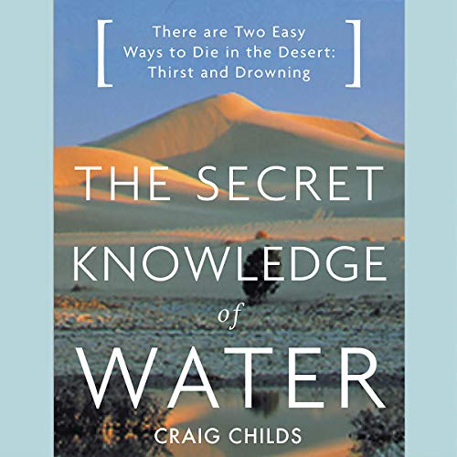 The Secret Knowledge of Water audiobook cover art