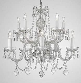 Chandelier Lighting Crystal Chandeliers H25