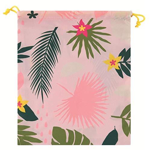 DLP, Sac à Maillot de Bain Zen Fresh Leaves en Polyester - 27x24 cm (D060-N052065)