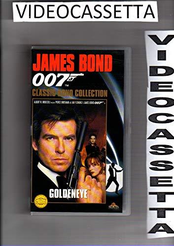 007 - GOLDENEYE - PIERCE BROSNAN - VHS