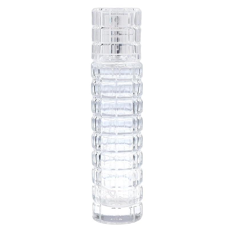 お尻じゃがいも薬用Fenteer ミニ 詰め替え可能 耐久性 ガラス 空 香水瓶 旅行 香水 スプレーボトル アトマイザー 30ml 全2色 - クリア