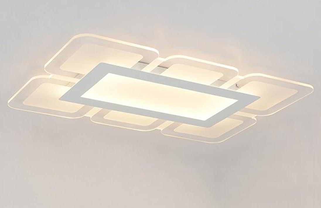 要塞距離委託DCCRBR リビングルームライトの長方形は、シーリングライトの寝室の照明レストランランプの柔らかい照明はまぶしくないです 天井シャンデリア (Size : 90*60cm)