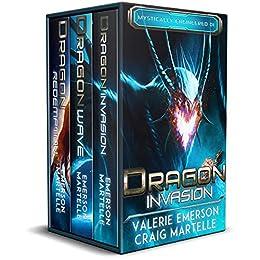Mystically Engineered Complete Trilogy: Mystics, Dragons, & Spaceships by [Craig Martelle, Valerie Emerson]