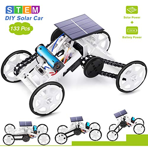 Selieve Stem Toys for 8-10 Year Old Boys, DIY 4WD Car Climbing Vehicle Motor Car...