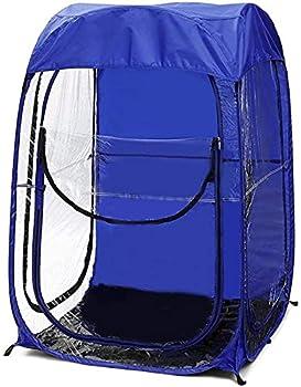 AMZYY Tente de Surveillance des événements Sportifs en Plein Air,Tente D'événement Légère Simple Double Portative Automatique Pop-up Tente de Pêche Résistante Aux,Blue