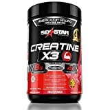 Six Star Pro Nutrition Creatine X3 Powder, Max-Dosed Creatine Powder, Micronized Creatine, Creatine HCl, Fruit Punch, 2.5 Pound (Pack of 1)