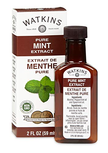 Watkins Pure Mint Extract, 2 oz. Bottles, Pack of 6 (Packaging May Vary)