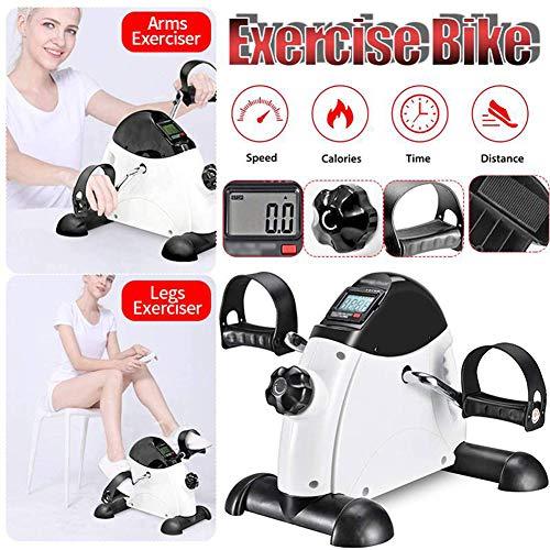 Thole Stepper Home Exerciser Radfahren Fitness Mini Pedal Heimtrainer LCD Display Indoor Cycling Bike Stepper FüR Die Gealterten Jungen Verlieren Gewicht