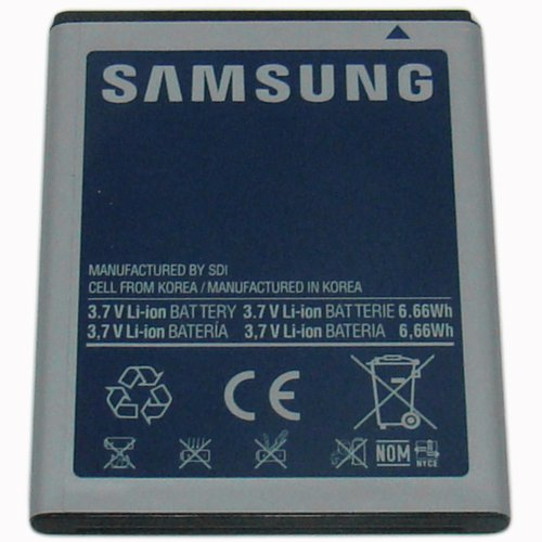 OEM Samsung Standard Battery for Samsung Stratosphere SCH-i405 EB505165YZ - Non-Retail Packaging - Blue