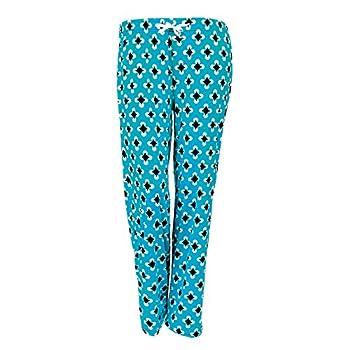 DM Merchandising Inc Hello Mello Trendy Womens Loungewear Pants with Luxurious Soft Fabric & Adjustable Elastic Waistband - Blue Max Relax - Medium/Large