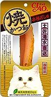 【ケース販売】チャオ 焼かつお 本格だし味 1本×48コ
