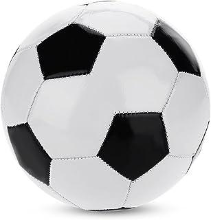 Dilwe Balón de fútbol, balón de Entrenamiento de fútbol clásico de PVC con válvula para el fútbol Que Juega niños del Ejercicio