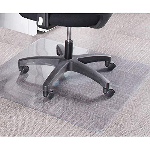 Stuhlmatten GUORRUI Bodenschutzmatte Filet Klar Kratzfest Transparente Tischdecke Geruchlos Harte Böden, 2 Stärken, Unterstützung Anpassung (Color : 2mm, Size : 90x90cm)
