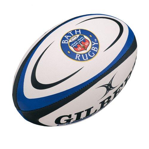 GILBERT Bath Réplica Mini Balón de Rugby, Mini