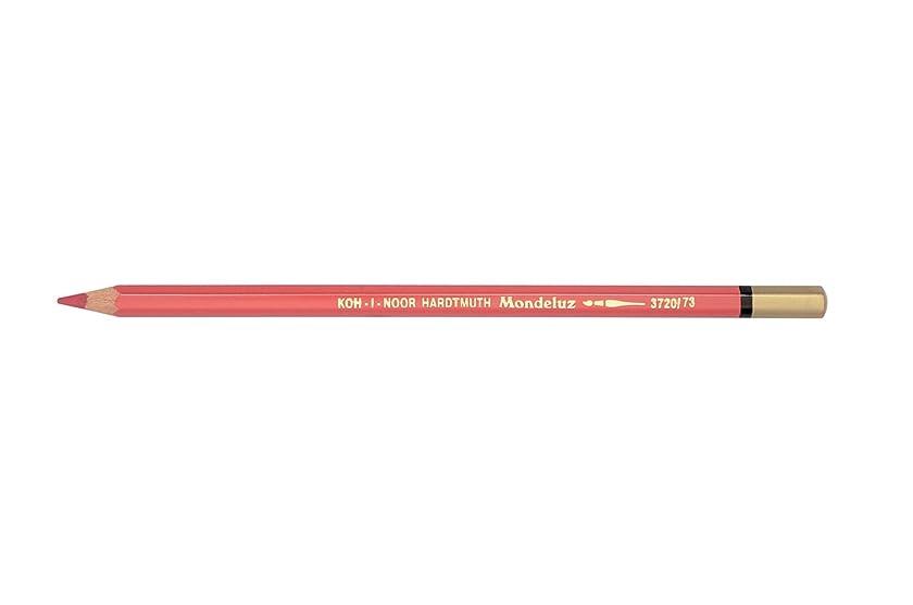 Koh-I-Noor 3720073007KS 3720 Aquarell Colored Pencil, Light Carmine Red (Box of 12)