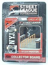 Ronin Syndicate Street League Skateboarding Pro Series 1 Black Skateboard & Nyjah Huston Collector Card Target Exclusive