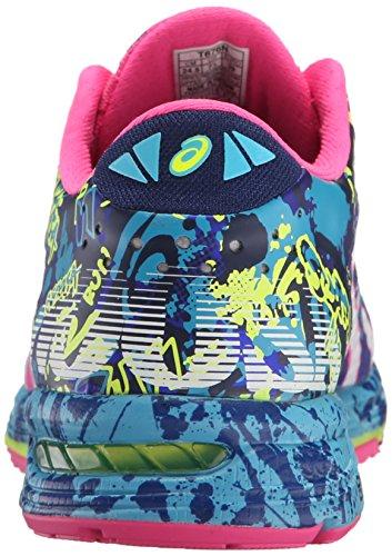 ASICS Women's Gel-Noosa Tri 11 Running Shoe, Asics Blue/White/Hot Pink, 9 M US 3