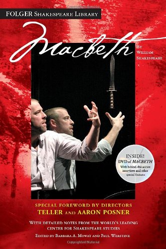 Compare Textbook Prices for Macbeth: The DVD Edition Folger Shakespeare Library Pap/DVD Edition ISBN 9781439172254 by Shakespeare, William,Mowat, Dr. Barbara A.,Werstine Ph.D., Paul
