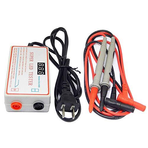 Matedepreso Probador de LED TV Digital Probador de retroiluminación de la computadora Comprobador de circuitos Comprobador Tira de Perlas de lámpara Herramienta de Prueba de reparación, Salida 0-300V