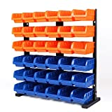 Rack With Storage Bins